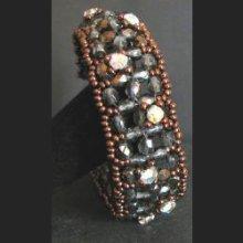 Bracelet en kit Gothica bronze
