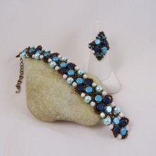 Bracelet Mielos Bleu en kit