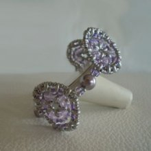 Bracelet Rondo Violet en kit