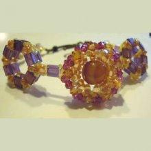 Bracelet en kit Somerset Orange Ambrée