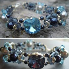 Bracelet Triade Denim en kit