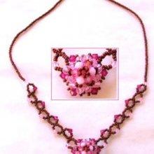 Kit collier Honshu rose