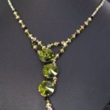 Kit collier Cyclade Olivine
