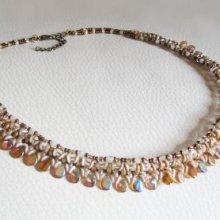 Collier en kit Pip ambre