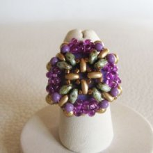 Bague en kit Cruciforme floral