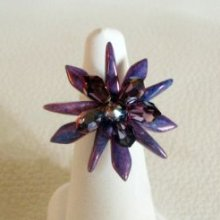 Bague en kit Dagos Crystal Lilac