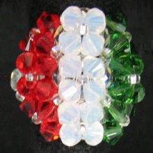 Kit bague Drapeau Italie