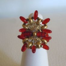 Bague en kit Indiana Rouge