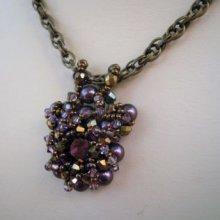 Pendentif Ios Lilac en kit