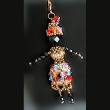 Kit bijou de sac Poupée africaine