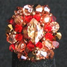 Kit bague Rodrigues Rouge Golden