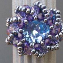 Kit bague Syros bleu violet