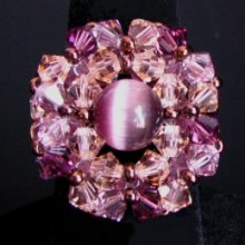 Kit bague Trinity violet