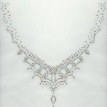 MOTIF STRASS COLLIER MULTICOLORE