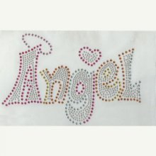 MOTIF THERMOCOLLANT STRASS ANGEL