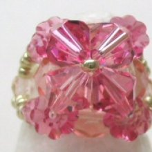 Notice de bague adelie rose