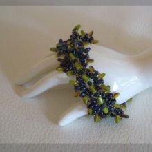 Tuto bracelet Indiana Olivine
