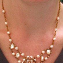 Notice de collier antigue peche