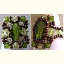 Notice de bague caiman olivine