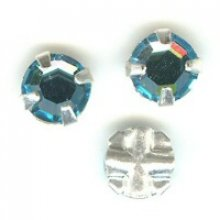 Strass 4 mm Aquamarine x 10
