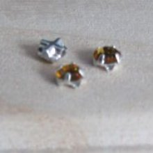Strass 4 mm Light Topaz x 10