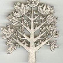 Pendentif Grand arbre à oiseaux 70 mm