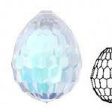 Swarovski goutte 6002 Crystal ab x1