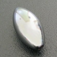 Perle hematite olive 16mm x 1