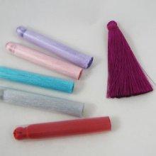 Pompon 7cm en rayonne couleur au choix