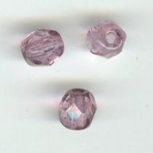 Facette 4mm medium amethyst x200