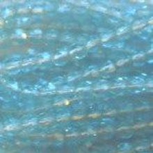 Facette 3mm Aquamarine x 20
