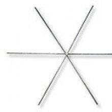 Armatures métallique étoile x3