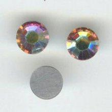 Strass SS16 crystal ab x12