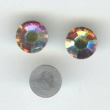 Strass SS16 crystal ab hotfix x12