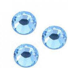 Strass SS20 Light sapphire hotfix x 12